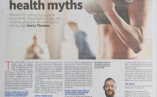 Top Health Myths