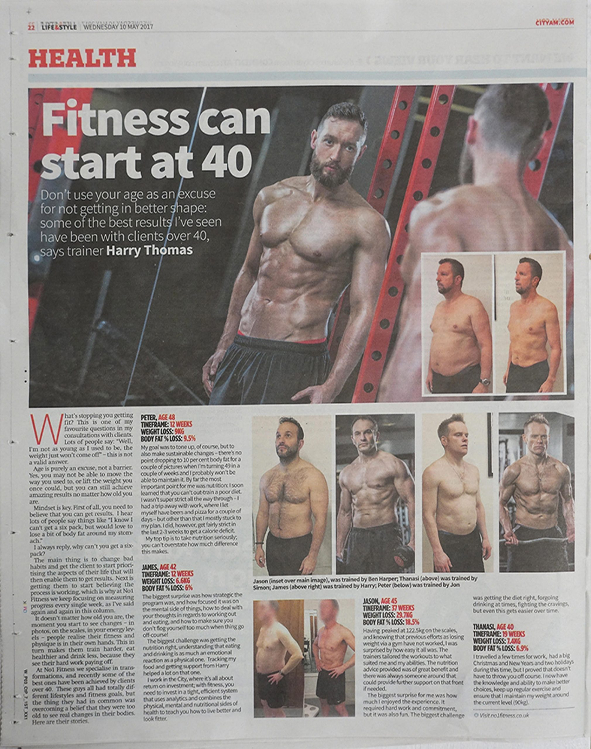 Fitness At 40