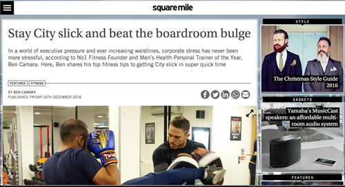 No1 Fitness Featured In Square Mile Magazine | No1 Fitness