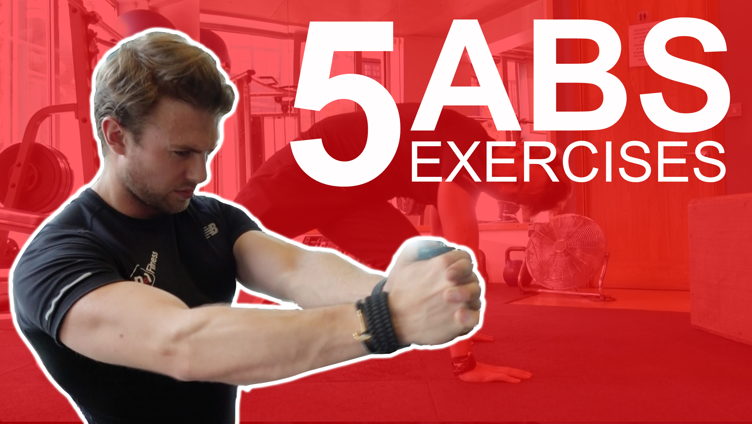 My Favourite 5 Abs Exercises | No1 Fitness